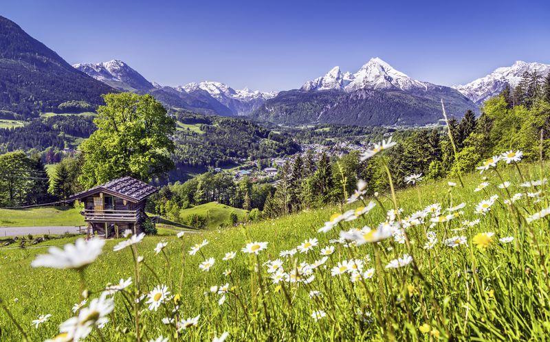 Itävalta sijaitsee keski-Euroopan sydämessä, josta löytyy myös ihanaa luontoa.