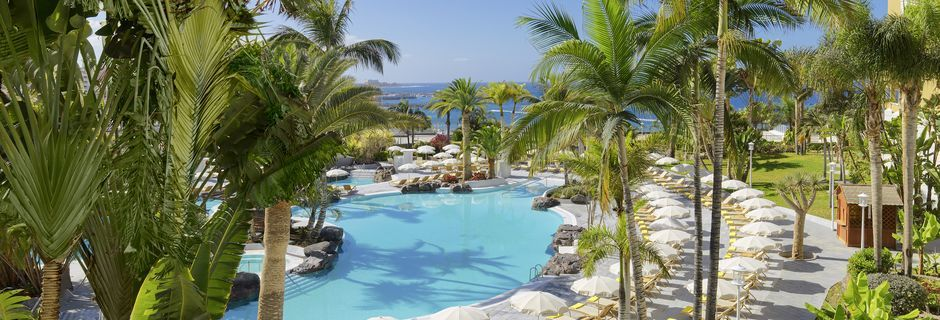 Allas, hotelli Jardines De Nivaria. Costa Adeje, Teneriffa.