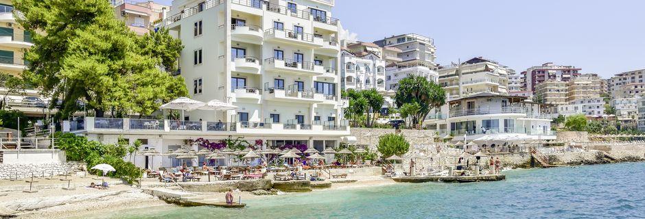 Hotelli Jaroal, Saranda, Albania.