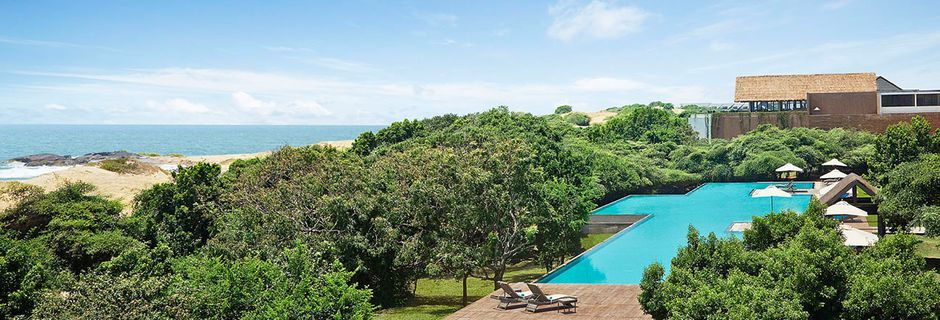 Apollomatkojen hotelli Jetwing Yala Sri Lankassa.