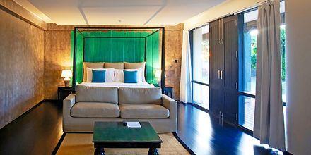 Kahden hengen huone, Hotelli Jetwing Yala, Yala, Sri Lanka.