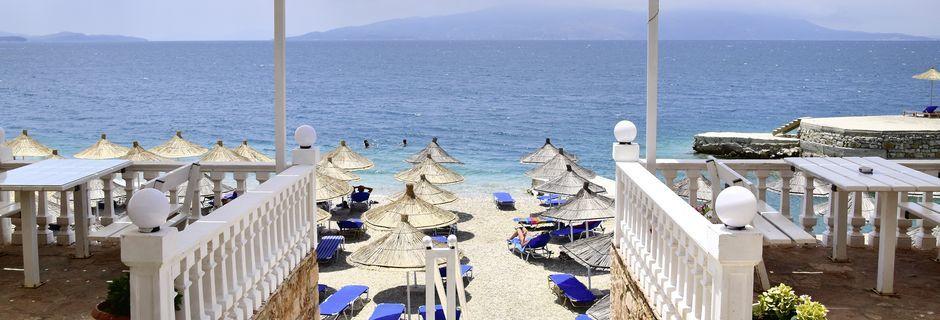 Ranta. Hotelli Joni, Saranda, Albania.