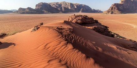 Aavikkomaisema Wadi Rumissa, Jordania.