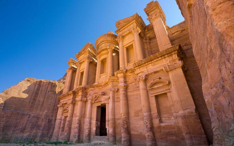 Petran kalliokaupunki, Jordania.