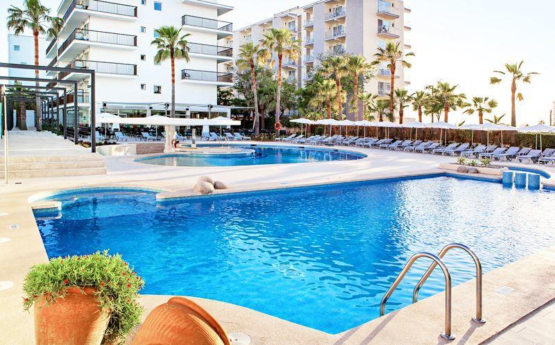 Allasalue, hotelli JS Palma Stay, Playa de Palma, Mallorca.