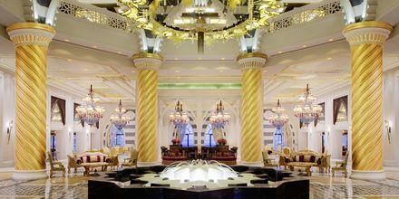 Aula, Hotelli Jumeirah Zabeel Saray, Dubai.