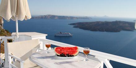 Hotelli Kafieris Blue, Santorini, Kreikka.