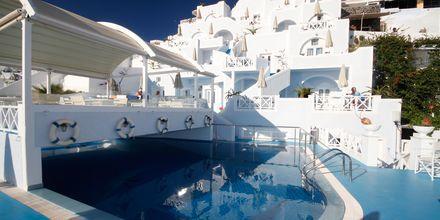 Allas, Hotelli Kafieris Blue, Santorini, Kreikka.
