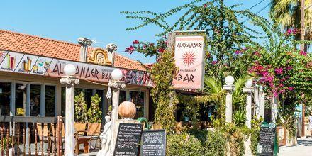 Ravintola. Kalamaki, Zakynthos, Kreikka.