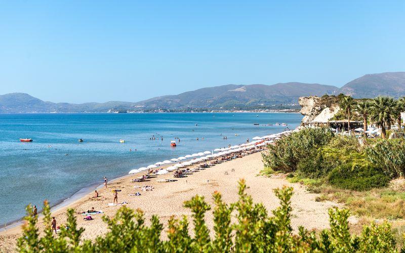Ranta. Kalamaki, Zakynthos, Kreikka.
