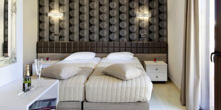 Yksiö. Hotelli Kallitsaki, Kreeta, Kreikka.