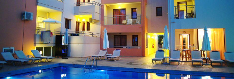 Allas. Hotelli Kallitsaki, Kreeta, Kreikka.