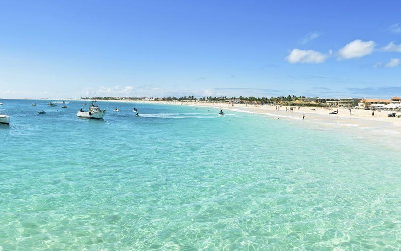 Santa Marian ranta, Kap Verde.