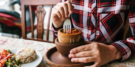 Testi Kebab on tyypillinen ruoka-annos Kappadokialla.