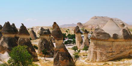 Pasabag Valley sijaitsee aivan Göremen ulkopuolella. Kappadokia, Turkki.