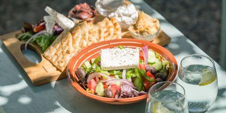 Kreikkalaiset ruoat ovat loman kohokohta.
