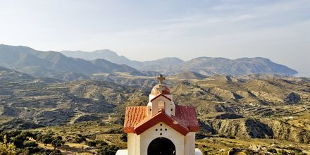 Vuoristokylä Menetes, Karpathos.