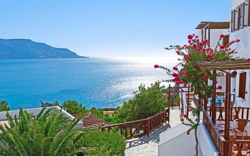 Hotelli Aegean Village Amopissa, Karpathos, Kreikka