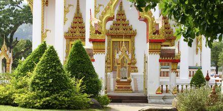 Wat Chalong – Buddha-temppeli Phuketissa.