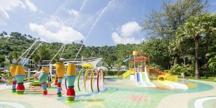 Allasalue, Hotelli Katathani Phuket Beach Resort & Spa, Phuket, Thaimaa.
