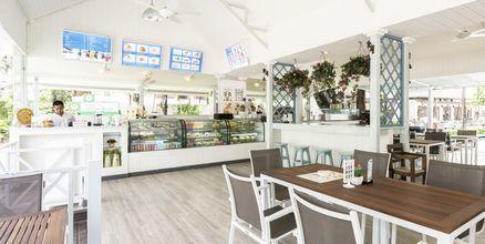 Seaside -ravintola, Hotelli Katathani Phuket Beach Resort & Spa, Phuket, Thaimaa.