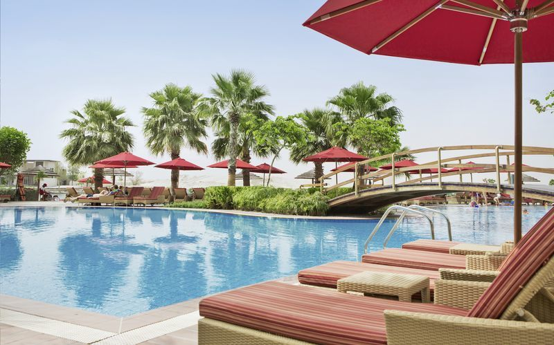 Hotelli Khalidiya Palace Rayhaan, Abu Dhabi.