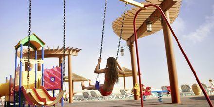 Leikkipaikka, Hotelli Khalidiya Palace Rayhaan, Abu Dhabi.