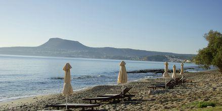 Läheinen ranta. Hotelli Kiani Beach Resort, Kalives, Kreeta.
