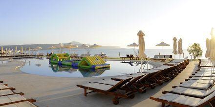 Allasalue. Hotelli Kiani Beach Resort, Kalives, Kreeta.
