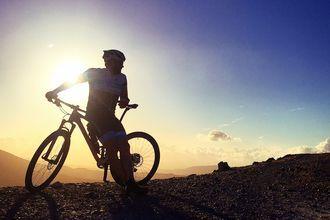 Pyöräilyretki. Kolymbari, Kreeta, Kreikka.