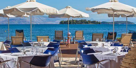 Ravintola Marina, Hotelli Kontokali Bay, Korfu, Kreikka.