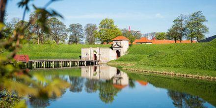 Linnoitus Kööpenhaminassa, Tanskassa.