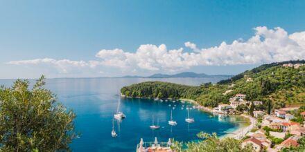 Pohjois Korfu, Kreikka.