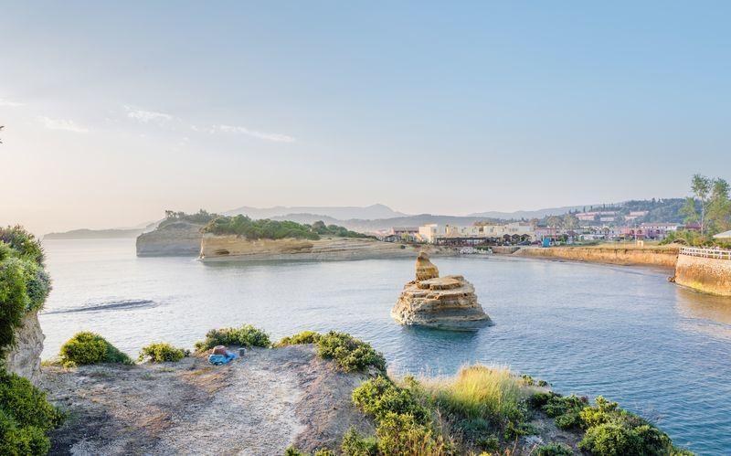 Sidari, Korfu, Kreikka.