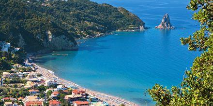 Agios Gordis, Korfu, Kreikka.