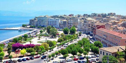Korfun kaupunki, Kreikka.