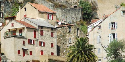 Cap Corten kaupunki, Korsika.