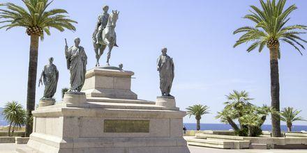 Napoleonin patsas, Ajaccio, Korsika.