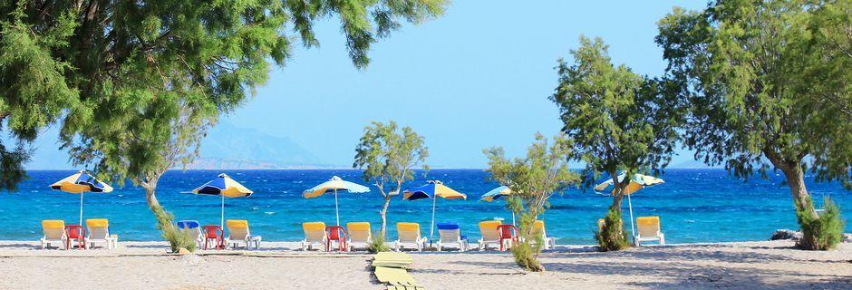 Kreikan Kosissa on paljon kauniita rantoja.