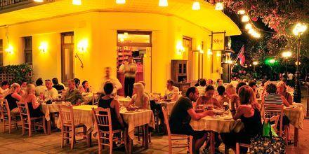 Ravintola Kosin kaupungissa.