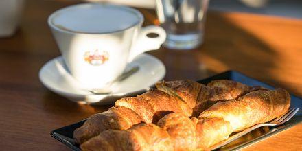 Kosin kaupungista löytyy monia hyviä kahviloita.