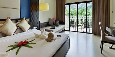 Perhehuone, Hotelli Krabi Tipa Resort, Ao Nang, Thaimaa.