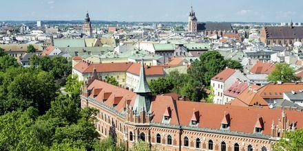 Näkymä Krakova yli.