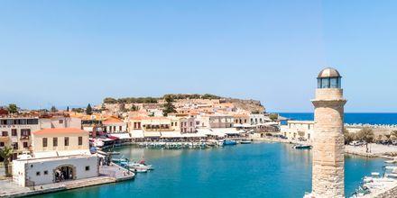Kaunis näkymä merelle. Rethymnonin, Kreeta.