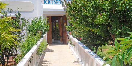 Hotelli Krinos, Karpathos, Kreikka - Sisäänkäynti