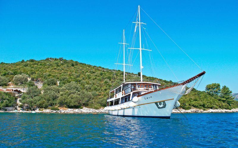 Kroatian saaristoristeily Afroditalla