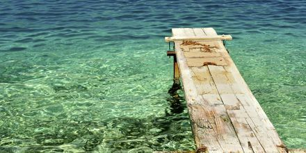 Kolmantena päivänä matka jatkuu kohti Korculaa. Matkan varrella on uimatauko.