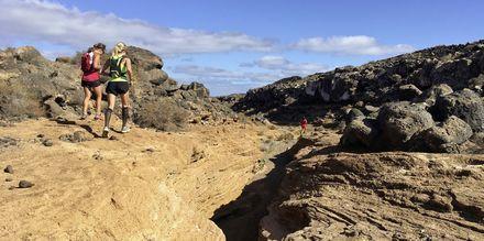 Maastojuoksua, Hotelli La Pared – powered by Playitas, Fuerteventura.