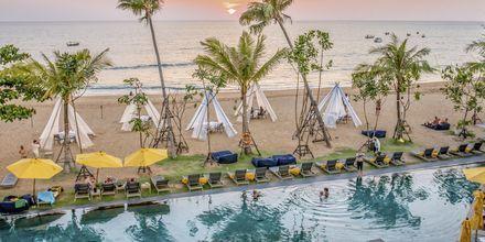 Ranta. Hotelli La Vela Khao Lak, Thaimaa.