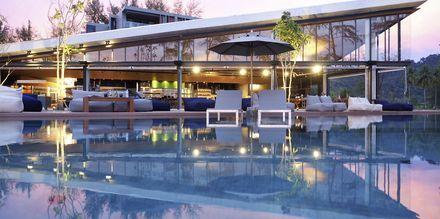 Kokulo Beach Club. Hotelli La Vela Khao Lak, Thaimaa.